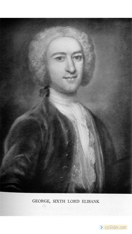 George Murray, 6th Lord Elibank (1706-1785)