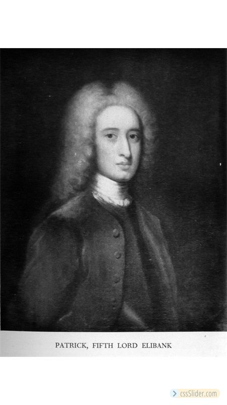 Patrick Murray 5th Earl  Elibank (1703-1778)